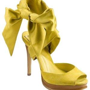 Diane von Furstenberg Eva Lace Up Sandal Sz 8.5
